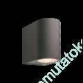 Kép 1/6 - GILVUS FALILÁMPA 12V 4W LED ANTRACIT