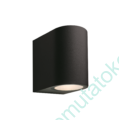 Kép 1/6 - GILVUS FALILÁMPA 12V 4W LED BLACK
