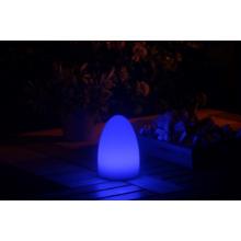 ASZTALI LED LÁMPA tojás alakú